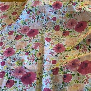 Kate Spade floral shower curtain